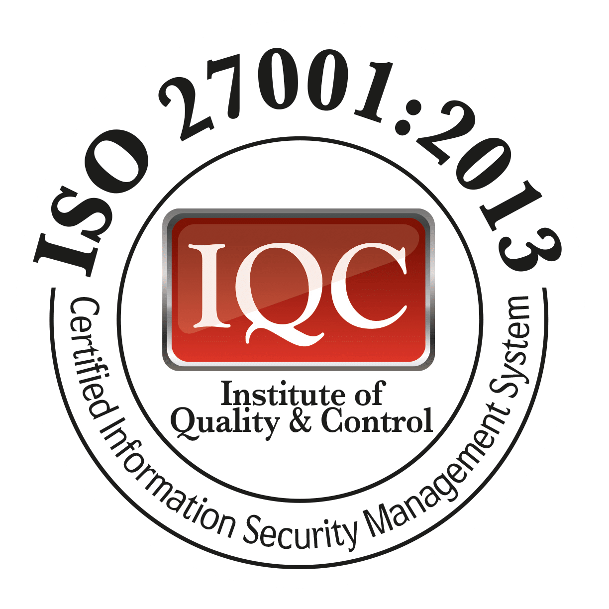 ISO 27001:2013 - Certified Information Security Management System