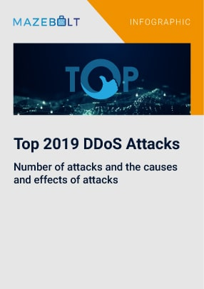 Top 10 DDoS attacks of year 2019