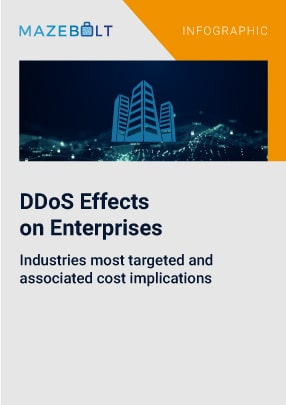 Effects of DDoS attacks on different industries in terms of downtime and cost