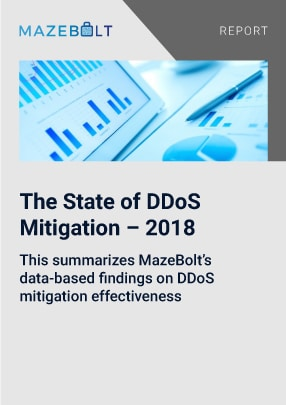Report uses past data to evaluate the performance of ddos mitigation systems available in the market