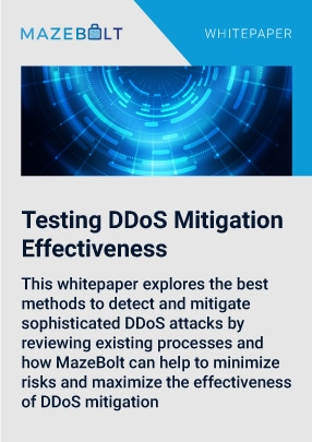 Test DDoS mitigation