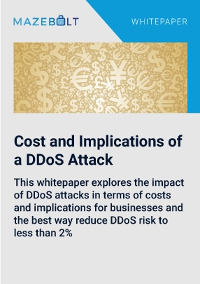 ddos attack cost
