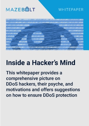 DDoS attacks and hackers