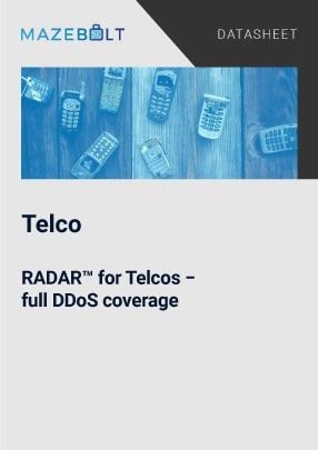 End to end ddos protection for Telcos